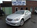 Used 2007 Lexus LS 460 NAVIGATION - CERTIFIED & E-TESTED for sale in North York, ON