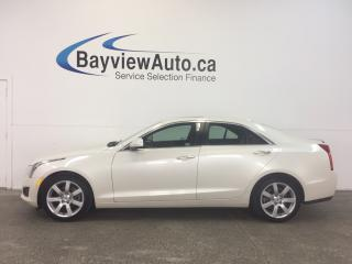 Used 2014 Cadillac ATS - 2.5L! PUSH START! HEATED LEATHER! BOSE! CRUISE! for sale in Belleville, ON