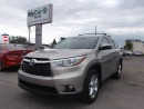 Used 2014 Toyota Highlander LIMITED  for sale in Richmond, ON