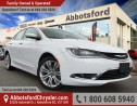 Used 2015 Chrysler 200 Limited Ex Demo w/ Remote Start & 8.4