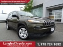 Used 2014 Jeep Cherokee Sport W/ TOW PACKAGE, U-CONNECT BLUETOOTH & POWER WINDOWS/LOCKS for sale in Surrey, BC