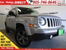 Used 2015 Jeep Patriot High Altitude| 4X4| LEATHER| SUNROOF| for sale in Burlington, ON