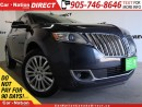 Used 2013 Lincoln MKX | AWD| LEATHER| DUAL SUNROOF| NAVI| for sale in Burlington, ON