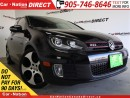 Used 2011 Volkswagen Golf GTI 3-Door| LEATHER| NAVI| SUNROOF| LOW KM'S| for sale in Burlington, ON