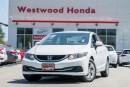 Used 2013 Honda Civic LX  Honda Certified. Warranty until June 2020 for sale in Port Moody, BC