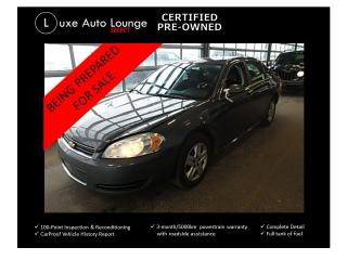 Used 2010 Chevrolet Impala LS - power seat, power group, keyless entry, clean for sale in Orleans, ON