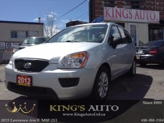 Used 2012 Kia Rondo LX, Bluetooth for sale in Scarborough, ON