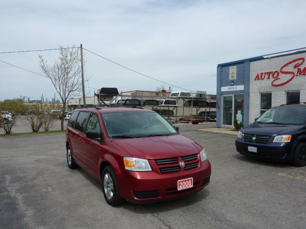 Photo of Red 2008 Dodge Grand Caravan