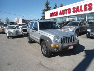 Used 2004 Jeep Liberty Sport for sale in Oakville, ON