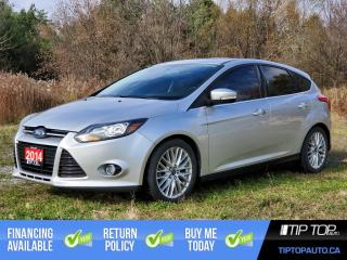 Used 2014 Ford Focus Titanium ** Leather, Heated Seats, Bluetooth ** for sale in Bowmanville, ON
