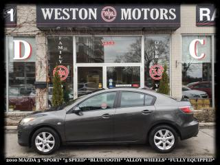 Used 2010 Mazda MAZDA3 *SPORT *5SPEED *BLUETOOTH *ALLOY WHEELS *FULLE for sale in York, ON