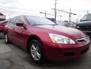Used 2007 Honda Accord EX-L NAVI-LEATHER for sale in Brampton, ON