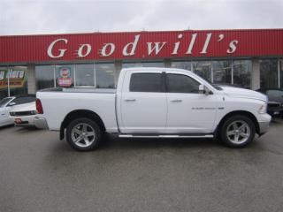 Used 2011 Dodge Ram 1500 BIGHORN! CREW! BLUETOOTH! for sale in Aylmer, ON