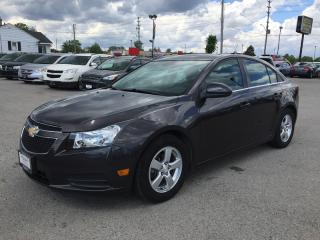 Used 2014 Chevrolet CRUZE 2LT * LEATHER * REAR CAM * SUNROOF * BLUETOOTH * SAT RADIO SYSTEM for sale in London, ON