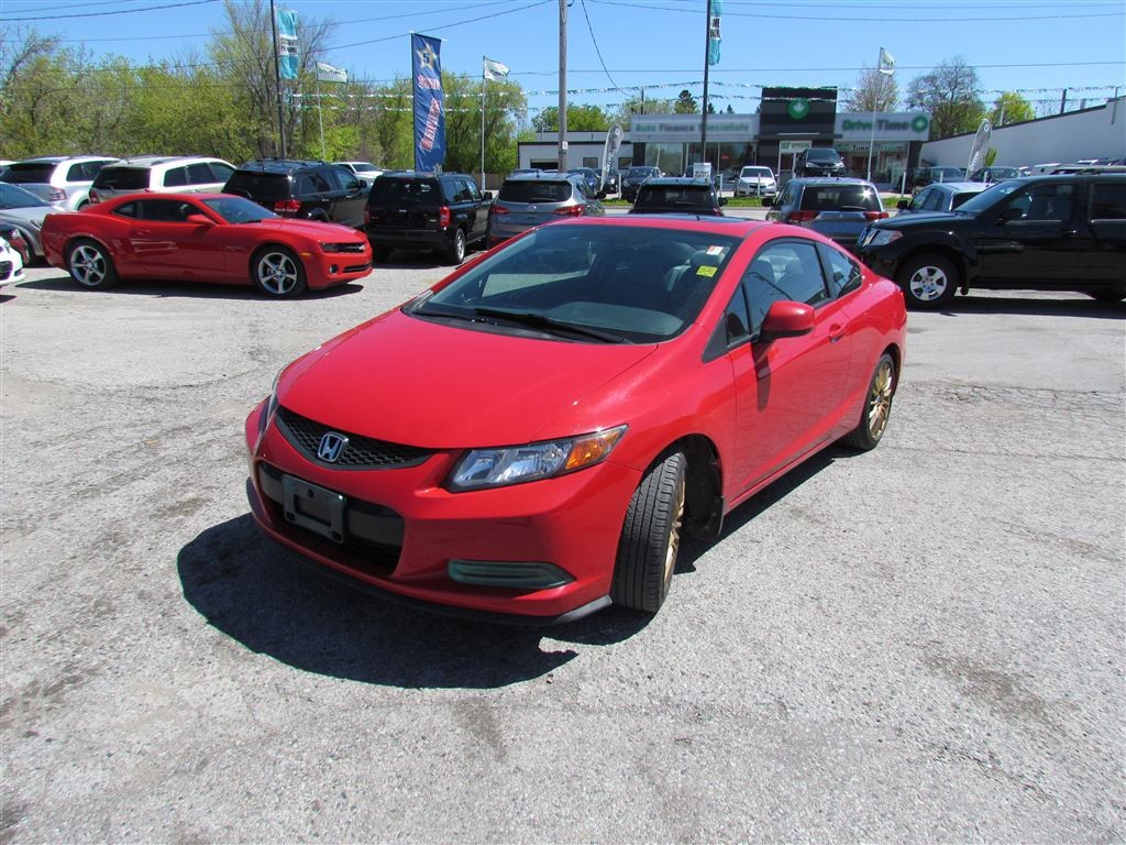 Used 2012 honda civic ex sunroof coupe aftermarket for Honda civic sunroof