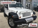 Used 2013 Jeep Wrangler Unlimited Rubicon|Leather|Heated Seats|Nav for sale in Edmonton, AB