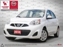 Used 2016 Nissan Micra SV Hatchback w/Power Windows/Locks/Mirrors + Keyless for sale in Etobicoke, ON