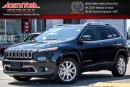 Used 2016 Jeep Cherokee Limited|Nav|R-Start|RearCam|Uconnect8.4|HtdFrSeats|DualClimate|18