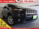 Used 2016 Jeep Cherokee North| TOUCH SCREEN| OPEN SUNDAYS| for sale in Burlington, ON