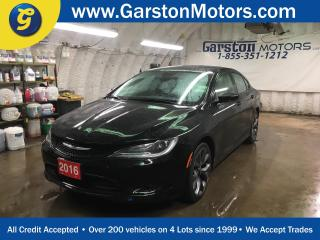 Used 2016 Chrysler 200 S*NAVIGATION*SUNROOF*LEATHER*BACK UP CAMERA*PENTASTAR V6*DUAL ZONE CLIMATE CONTROL*PHONE CONNECT*PUSH BUTTON START*REMOTE START* for sale in Cambridge, ON
