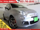 Used 2015 Fiat 500 Sport| ONE PRICE INTEGRITY| OPEN SUNDAYS| for sale in Burlington, ON