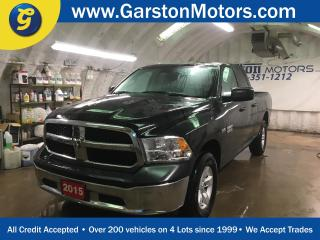 Used 2015 Dodge Ram 1500 SXT*QUAD CAB*KEYLESS ENTRY*POWER WINDOWS/LOCKS/HEATED MIRRORS*CRUISE CONTROL*4x4*TOW/HAUL MODE*ALLOYS*TRACTION CONTROL*AM/FM/XM/AUX/USB* for sale in Cambridge, ON