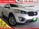 Used 2016 Kia Sorento 2.4L LX| AWD| HEATED SEATS| OPEN SUNDAYS| for sale in Burlington, ON