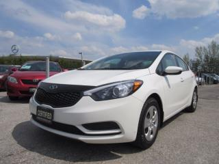 Used 2015 Kia Forte LX / ONE OWNER / ACCIDENT FREE for sale in Newmarket, ON