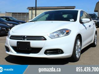 Used 2014 Dodge Dart Limited LEATHER NAVIGATION for sale in Edmonton, AB