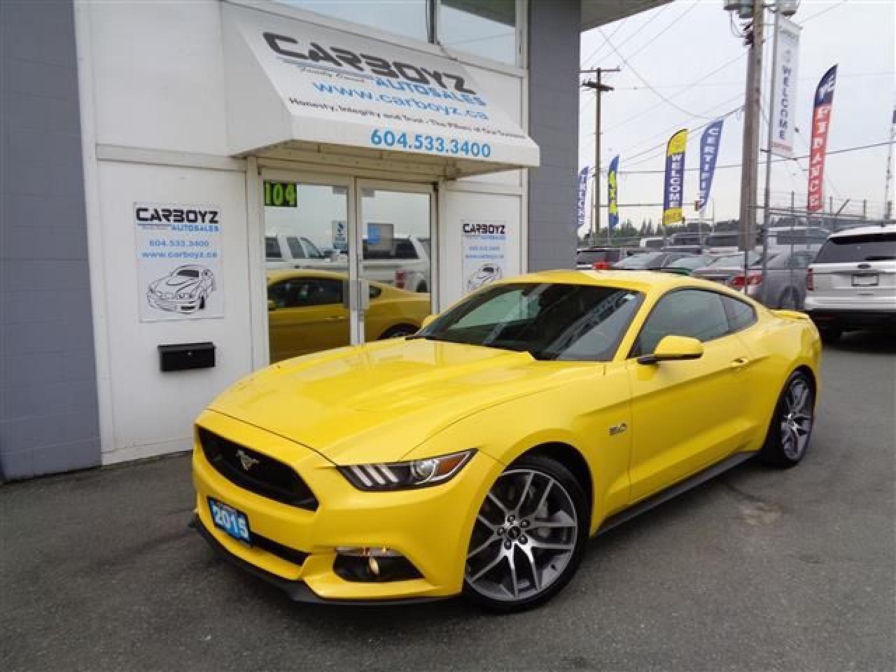2015 Ford Mustang GT Premium 5.0L, Nav, Roush Exhaust
