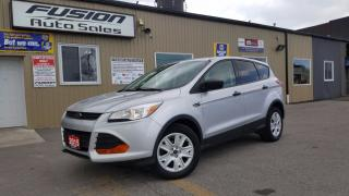 Used 2015 Ford Escape S-BACK UP CAMERA-1 OWNER OFF LEASE for sale in Tilbury, ON