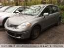 Used 2007 Nissan Versa 1.8 S | YOU CERTIFY, YOU SAVE for sale in Kitchener, ON