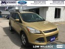 Used 2014 Ford Escape SE  - Bluetooth -  Heated Seats - Low Mileage for sale in Kincardine, ON