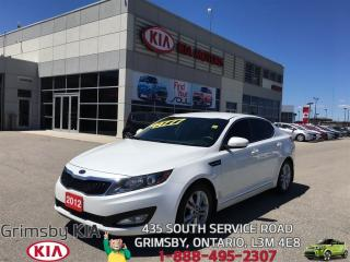 Used 2012 Kia Optima EX...FUEL EFFICIENT AND STYLISH!!! for sale in Grimsby, ON
