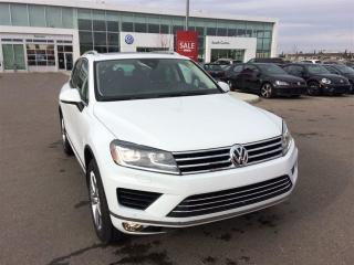 Used 2017 Volkswagen Touareg 3.6L Execline for sale in Calgary, AB