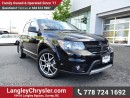 Used 2016 Dodge Journey ACCIDENT FREE w/ ALL-WHEEL DRIVE, LEATHER UPHOLSTERY & SINGLE DVD ENTERTAINMENT for sale in Surrey, BC
