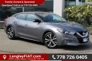 Used 2016 Nissan Maxima SV NO ACCIDENTS for sale in Surrey, BC
