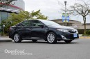 Used 2014 Toyota Camry HYBRID Navi, Leather Interior, Power/Heated Front Seats, Back Up Cam, Bluetooth, Keyless Start, Sunroof for sale in Richmond, BC