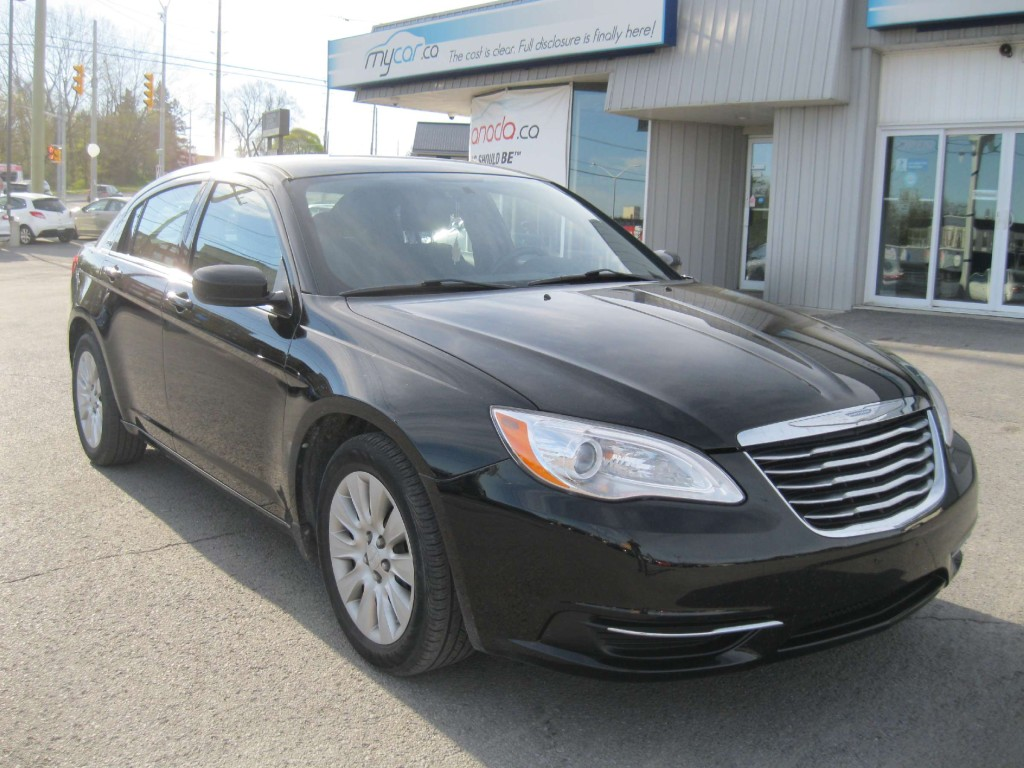 used 2013 chrysler 200 lx for sale in kingston ontario. Black Bedroom Furniture Sets. Home Design Ideas