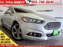 Used 2014 Ford Fusion SE| LEATHER| NAVI| BACK UP CAMERA| for sale in Burlington, ON