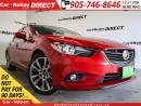 Used 2015 Mazda MAZDA6 GT| LEATHER| SUNROOF| NAVI| for sale in Burlington, ON