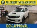 Used 2011 Subaru Impreza WRX STI*AWD*LEATHER*TRACTION CONTROL*SI-DRIVE*PHONE CONNECT/VOICE RECOGNITION*HEATED SEATS*AM/FM/CD/AUX/USB/BLUETOOTH*CLIMATE CONTROL*POWER WINDOWS/LOCKS/MIRRORS*ALLOYS* for sale in Cambridge, ON