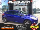 Used 2013 Ford Focus SE *LOW KM *ALLOY WHEELS *BTOOTH *HTD SEATS *XM for sale in Winnipeg, MB