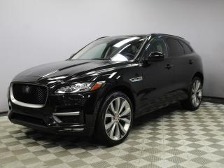 Used 2017 Jaguar F-PACE 35t R-Sport - Original Retail Price $78,711 - 4yr/80000kms manufacturer warranty included until March 30, 2021! Locally Owned and Serviced | Executive Demo | No Accidents | 3M Protection Applied (Plus Glass Roof) | Navigation | Surround Camera System | Pa for sale in Edmonton, AB
