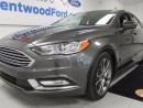 Used 2017 Ford Fusion SE wit dat sunroof! and back up cam! and keyless entry! for sale in Edmonton, AB