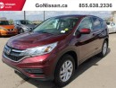 Used 2015 Honda CR-V Heated seats, back up camera, alloy rims!! for sale in Edmonton, AB
