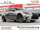 Used 2015 Lexus IS 250 F-SPORT TOP OF LINE | ALL WHEEL DRIVE - FORMULA HO for sale in Scarborough, ON