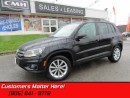 Used 2013 Volkswagen Tiguan 2.0 TSI Comfortline  HEATED SEATS! AWD! MOONROOF! for sale in St Catharines, ON
