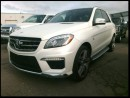 Used 2015 Mercedes-Benz ML-Class ML63 AMG w/Rear DVD for sale in Winnipeg, MB