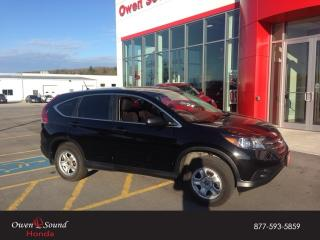 Used 2014 Honda CR-V LX for sale in Owen Sound, ON